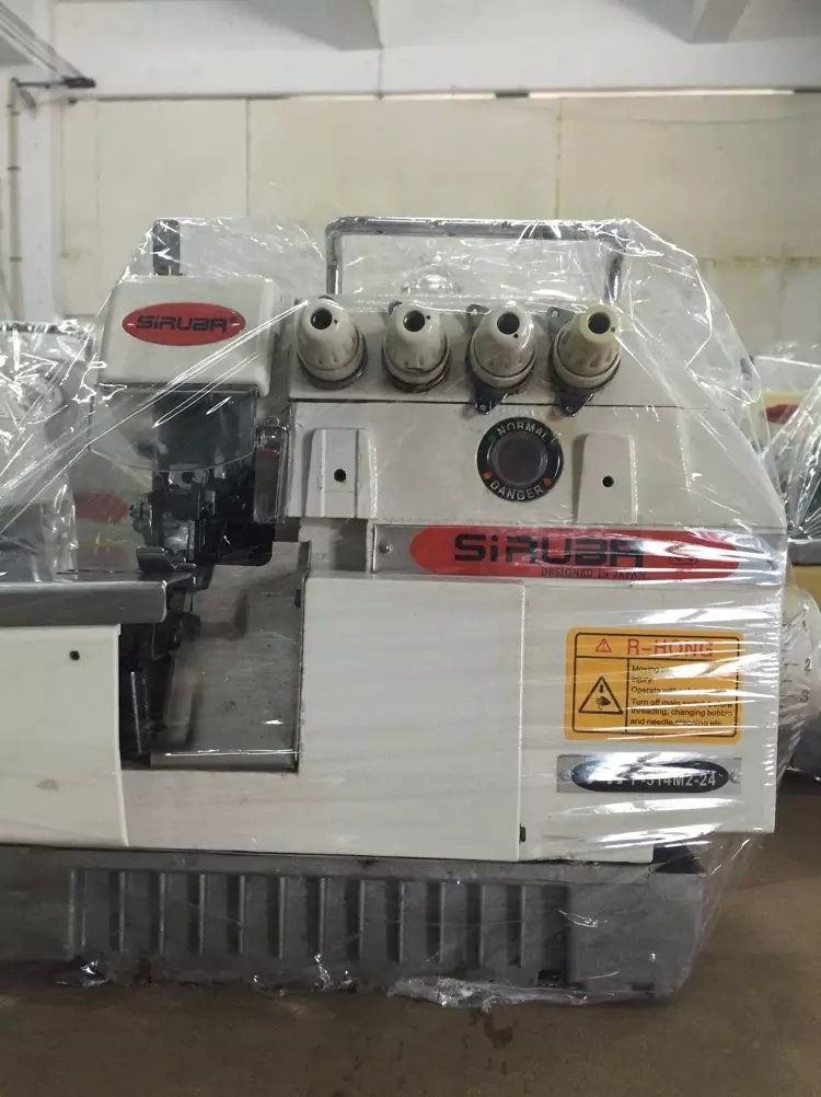 USED 747 SIRUBA 757 OVERLOCK SEWING MACHINE WITH 80-90%NEW