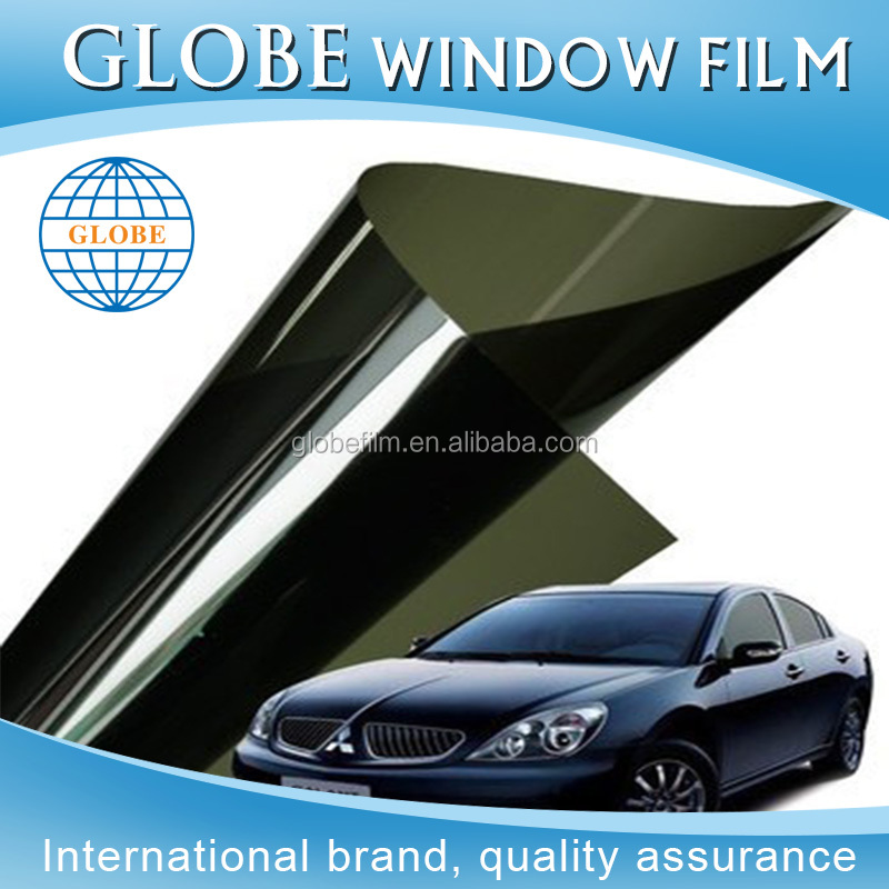 China factory new style glass security black mirror solar window film