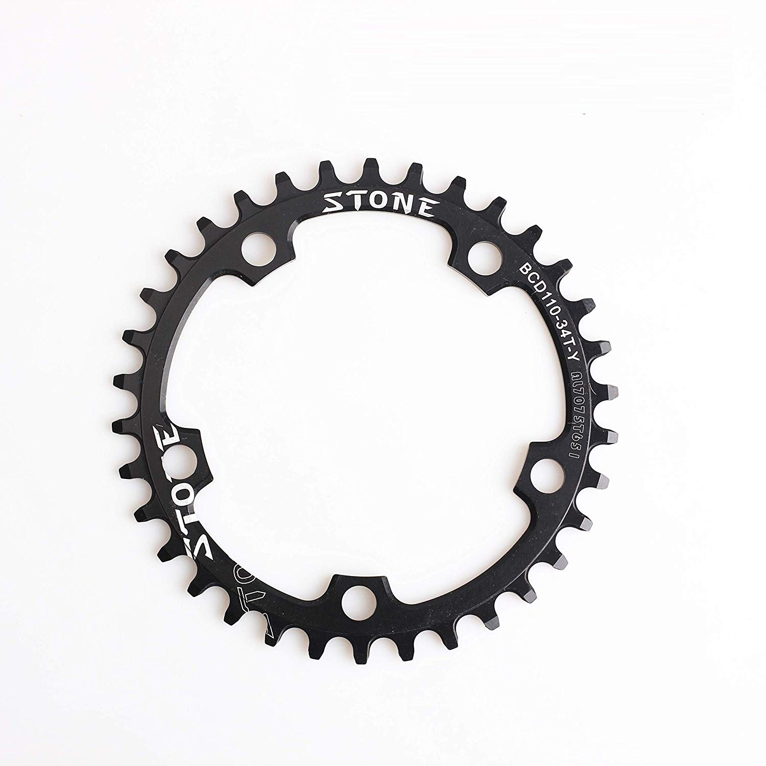 2d841a446cc ... S-Works Direct Mount. Get Quotations · Bicycle Chainring BCD110 34T Narrow  Wide NW Circle 5 Bolts 1x System Al7075 Made