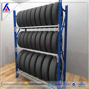 tyre rack special designed for firestone dealer