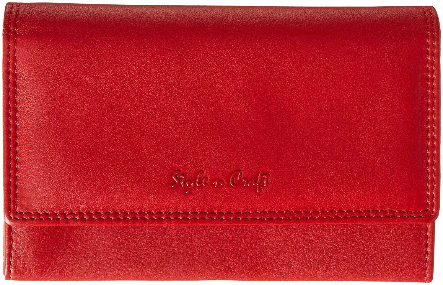 Style n Craft 300953 Ladies Clutch Wallet in Soft Cow Nappa Leather