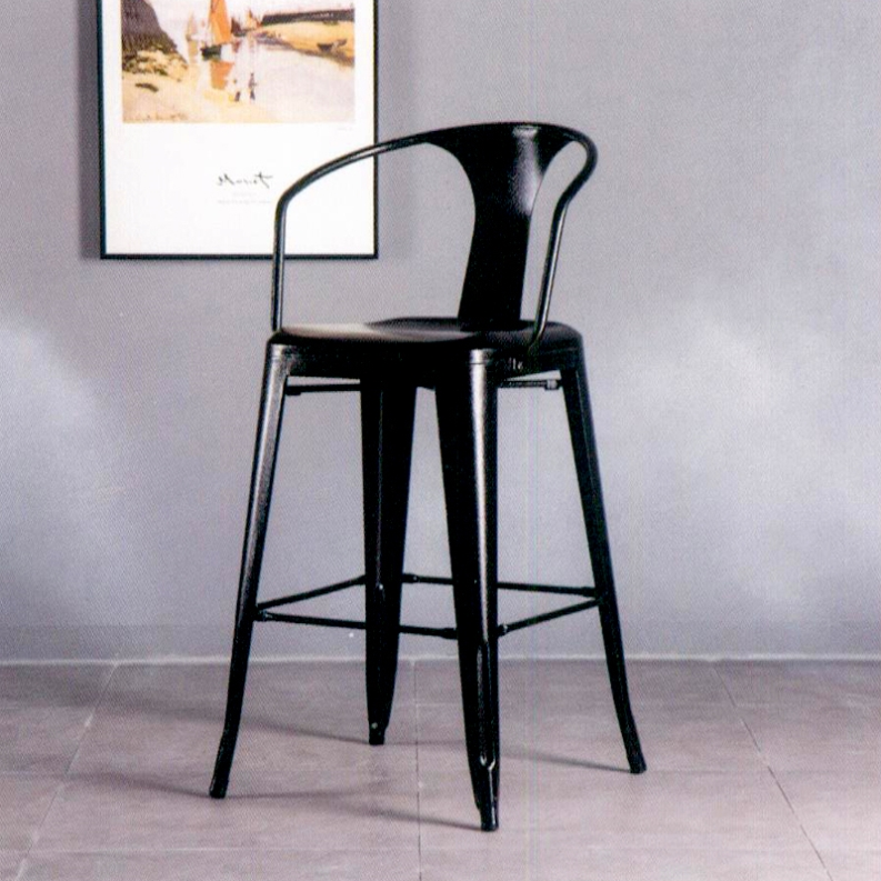 Cheap american durable metal restaurant bar stool