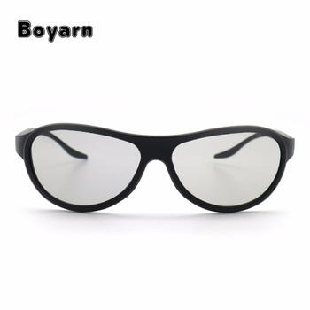 fde66203c19bb Substituição Óculos 3D Polarizados Passivos Óculos AG-F310 Para LG TCL  Samsung Konka 3D reald
