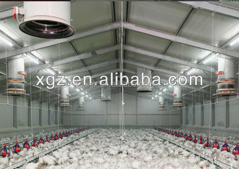 Commercial Chicken House 2017 construction design poultry farm commercial chicken house
