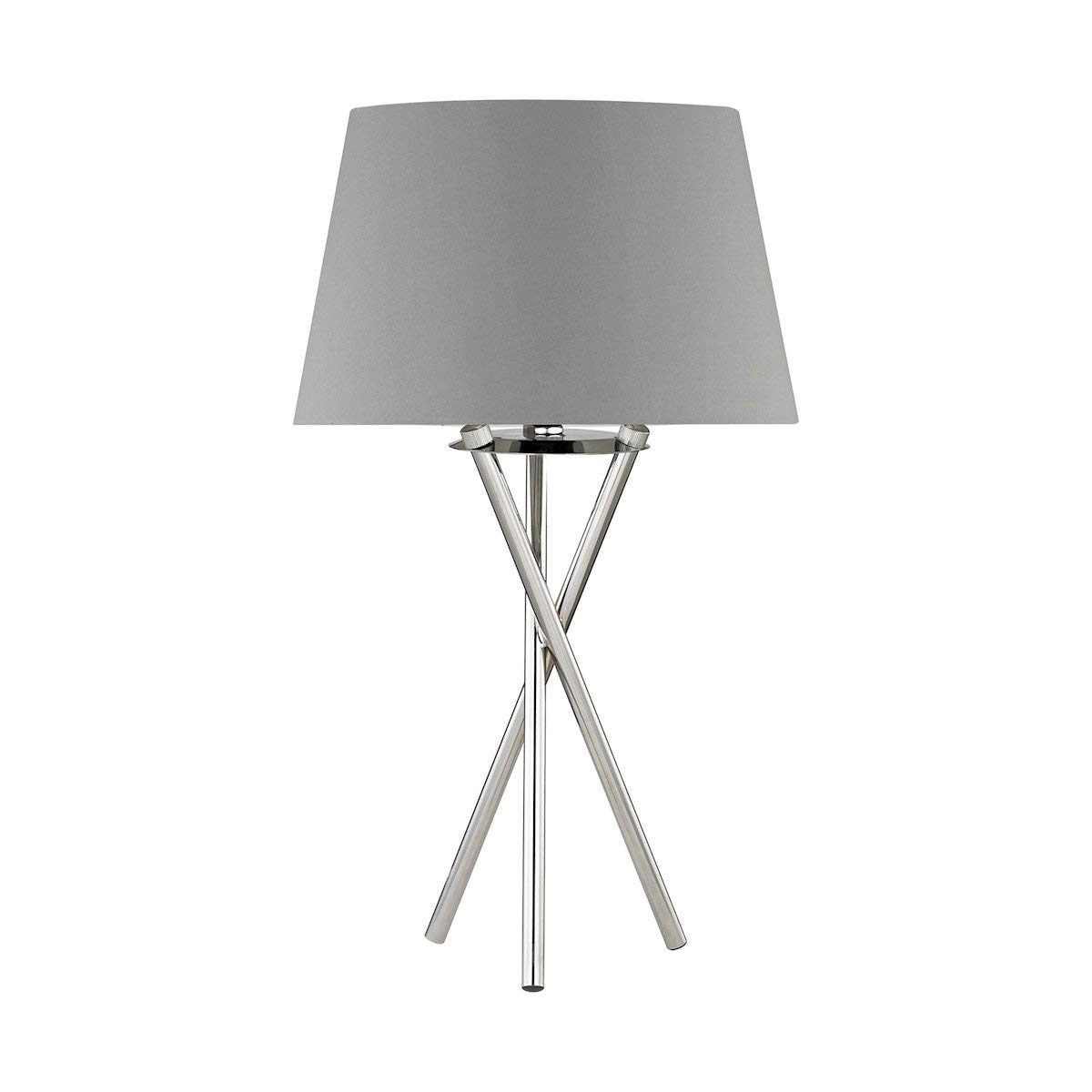 Dimond D3185 Excelsius Table Lamp, 1-Light 60 Watts, Polished Nickel