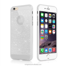 Shiny Soft TPU Back Skin Cover for iPhone 6 6plus Gillter Mobile Phone Case