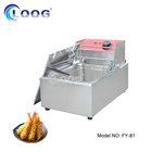 Hot Sale Commercial Electric Table Top Fryers/ Single Tank Deep Fryer with CE Certificate