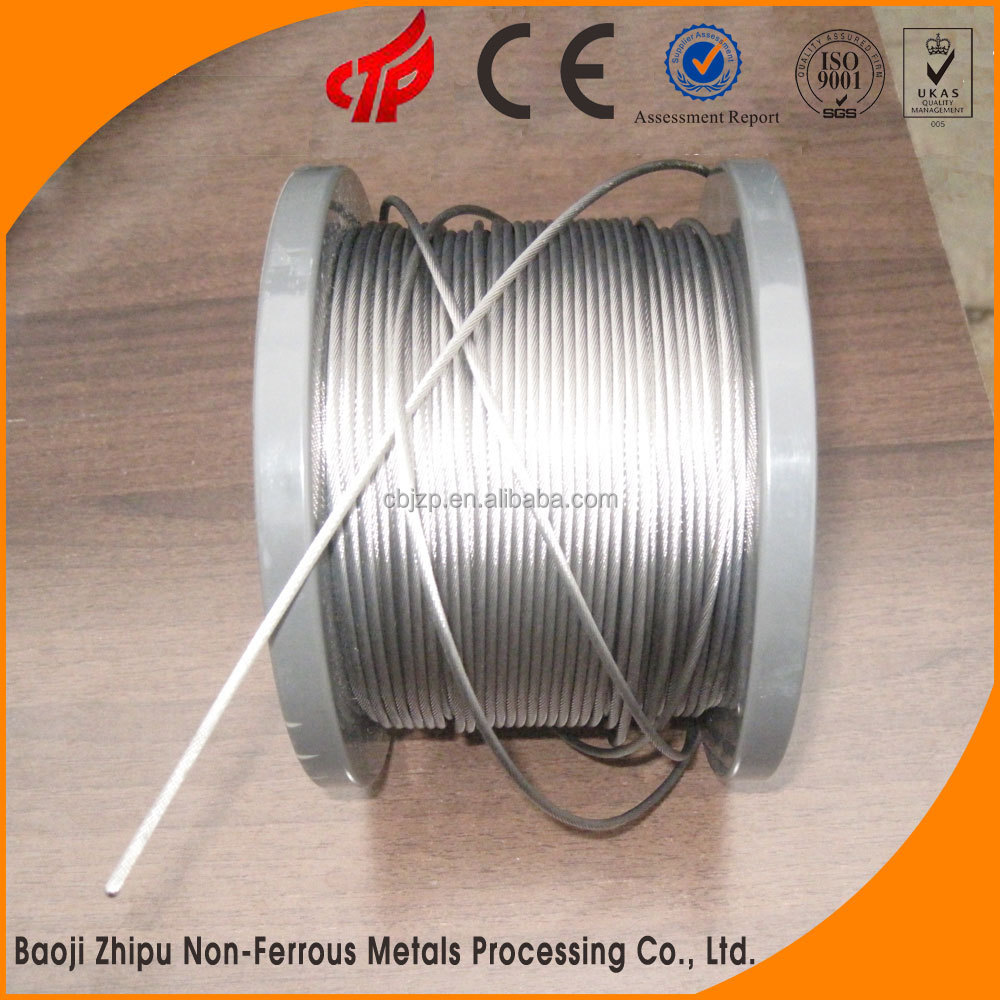 Buy wholesale direct from China industrial molybdenum product and tungsten wire rope sizes for sale