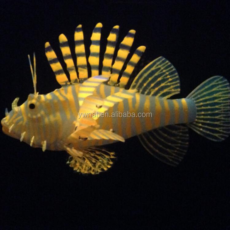 Wonderlijk Nieuwste Populaire Goedkope Aquarium Decoratie Siliconen Glow In UH-26