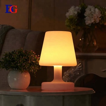 New Creative Led Bar Table Lamp Restaurant Outdoor Light Battery Decorations Rotomolding Modern