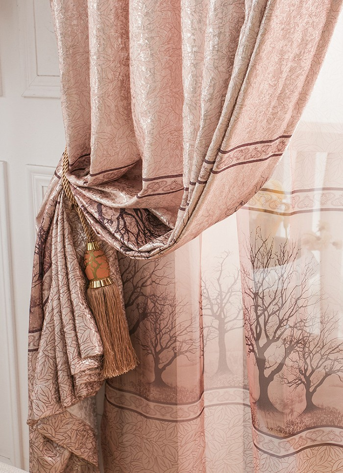 Simple Curtain Design Semi Blackout Living Room Latest Curtain With  Accessories Curtain For Living Room Part 42