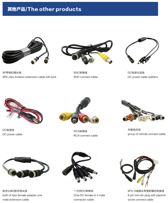 4 Pin Mini Din Male Rca Av Male Cable For Video And Audio