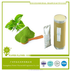 High quality and concentrate green tea powder flavor for baked for biscuit