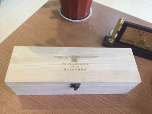 High quality best price customized wholesale luxury modern new design wooden wine crates/wooden wine box/woooden packing box