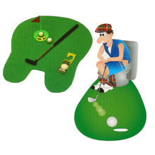 Potty Putter Igienici Divertente Bagno Mini <span class=keywords><strong>Golf</strong></span> Mat Set