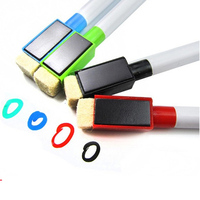 Hot Sell Mini size Magnetic Dry erase marker with brush
