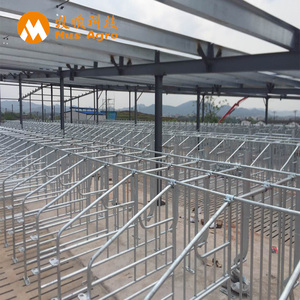 Pig Farm Equipment Sow Galvanized Gestation Crate Hog Gestation stall agricultural equipment