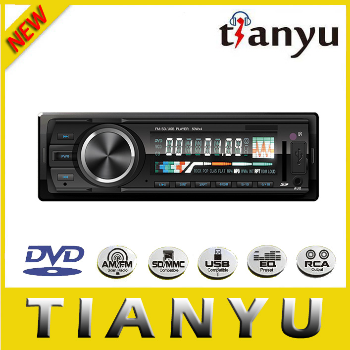 car dvd player with BLUETOOTH/DVD/VCD/CD/MP4/MP3 / JPGE/WMA/FM/AM/TV/SD/USB