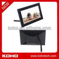 7 inch family time digital photo frame with calendar