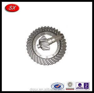 auto crown wheel shaft and pinion gear shaft