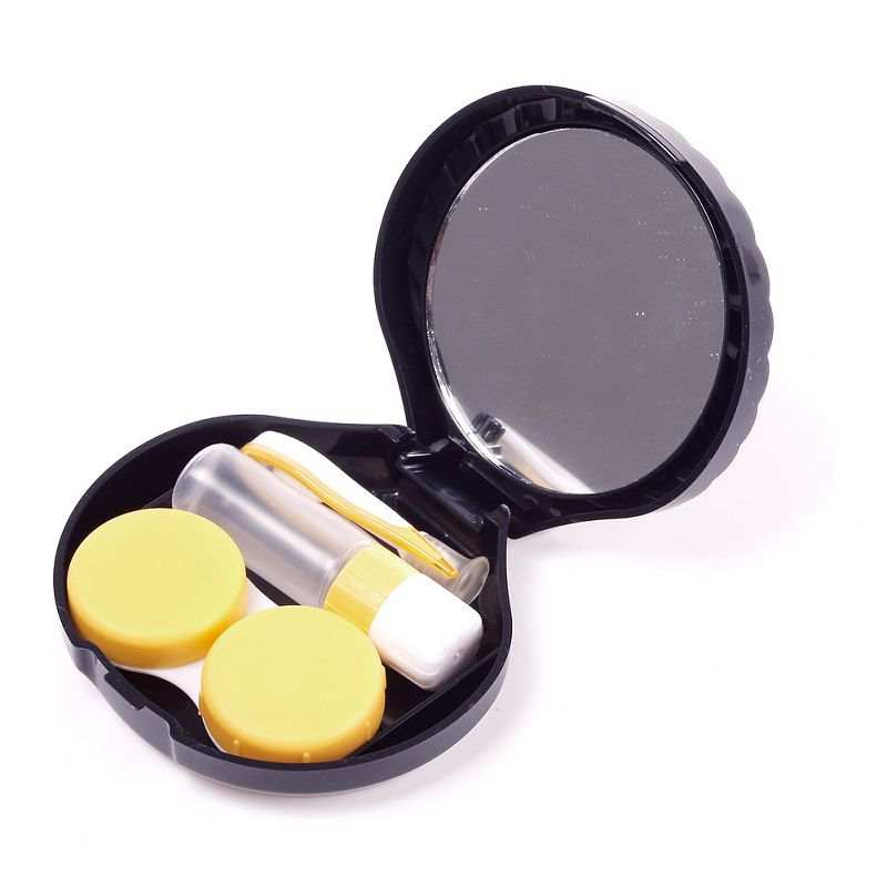 Travel Kits Mini Pocket Storage Lenses Holder Container Shell for Contact Lens Glasses Box #65381