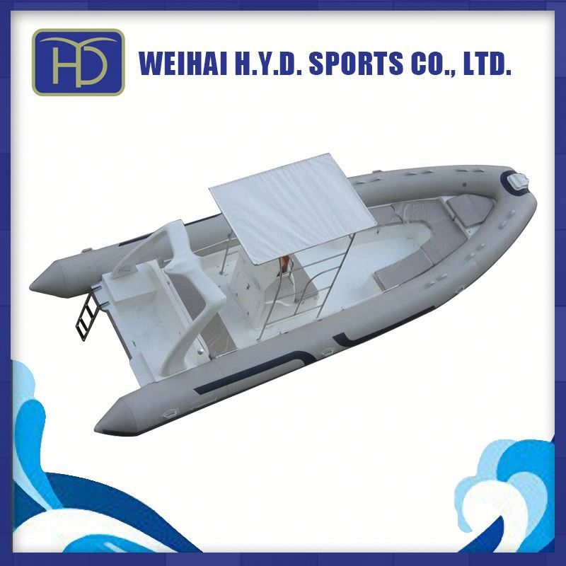 Aluminum Bottom Rigit Inflatable Boat with Factory Price