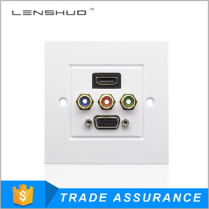 Manufacturer hdmi wall socket for 4k tv projector