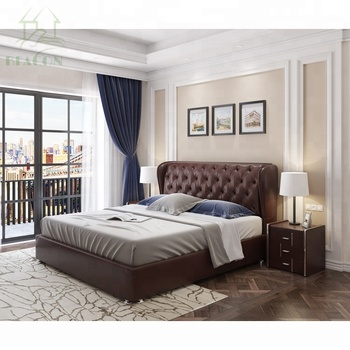 the latest 35333 99011 Luxury Leather European King Size Bed Bedroom Furniture - Buy Italian King  Bedroom Furniture,Luxury Wooden Bedroom Furniture,Luxury Leather European  ...