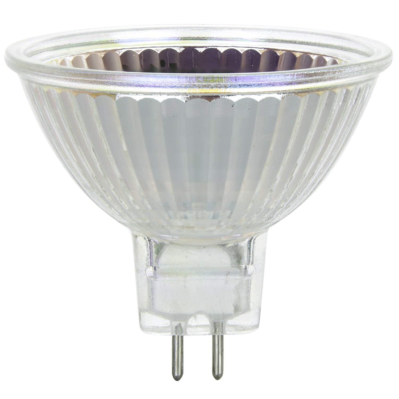 Feit Electric BPQ50MR16IFGU10 50 Watt MR16 Reflector Frost Halogen Bulb 3 Count BPQ50MR16//IF//GU
