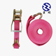 China Supplier Polyester 25mm Cargo Lashing Belt Ratchet Tie Down Strap