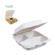 100% disposable food boxes to go sandwich 3 compartments bowl takeout clamshell plastic container