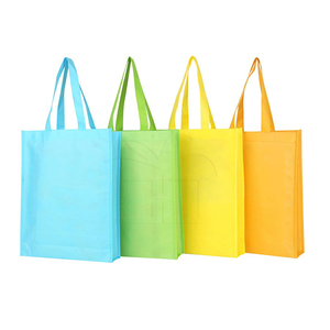 Custom Order Assorted Colors Small Book Bag Non Woven Gift Tote Bag
