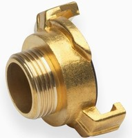 Brass Garden Coupling Pipe Y Connector Garden Brass Fitting For ...