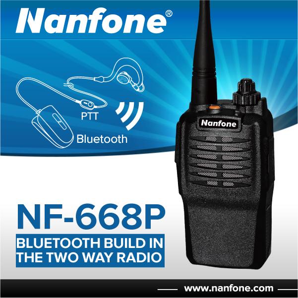 Nanfone T02 Best Long Range Fm Radio Walkie Talkie With Antenna ...