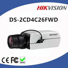 2MP Hikvision H.265 Box Camera DS-2CD4C26FWD Support Triple Streams