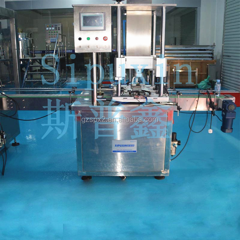 SPX full automatic Medicine bottles capper/ aluminum foil sealing and capping machine / caps machinery in CHINA