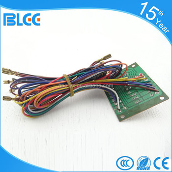 Arcade Game Machine Wire Harness Color Codes - Buy Wire Harness Color on relay harness color code, wiring harness connectors, wiring harness transmission, toyota wiring diagrams color code, safety harness color code, trailer wire harness color code,