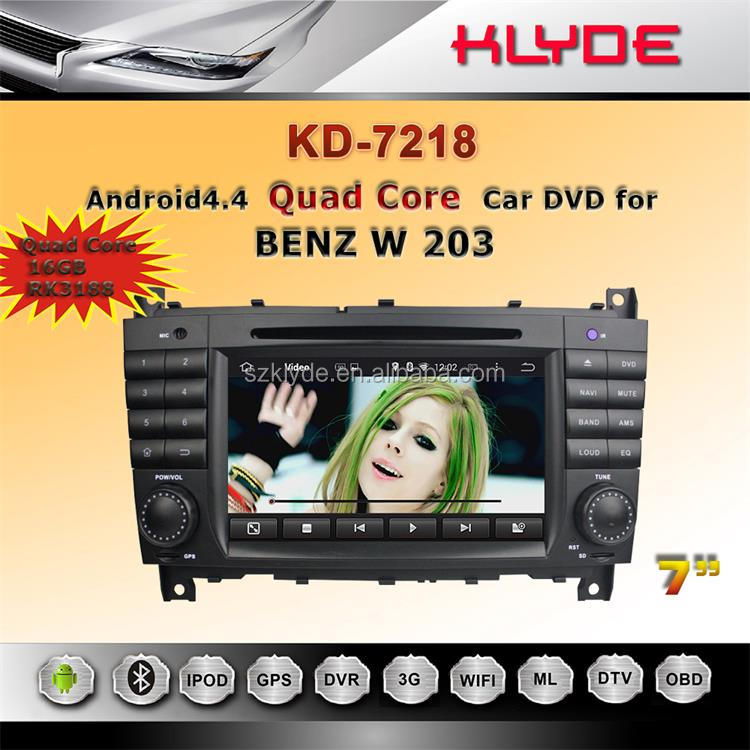 great Bluetooth excellent sound works well car gps navigation for mercedes w203