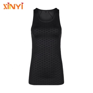 Sheer Mesh Activewear Stretch Reflective Slim Fit Yoga Vest Custom Running Tops