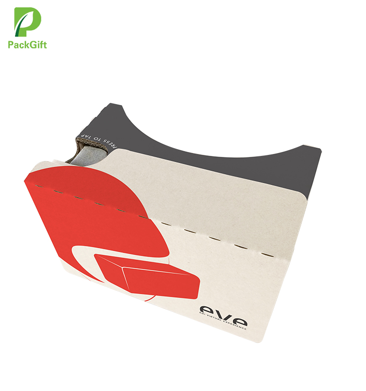 lowest price new version paper vr 3d cardboard glasses