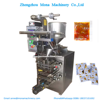 Hot sale automatic 3 or 4 edge sealing machine for filling and packing spices for liquid,powder,particle products