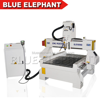600x900mm 4 axis cnc 6090 router, cnc router small with cast iron structure
