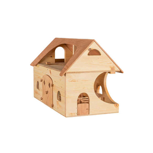 Top Quality Kids Toy Block wood house puzzle for wholesales