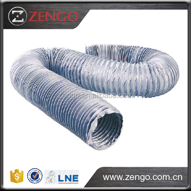 Full sized PVC Flexible duct, PVC