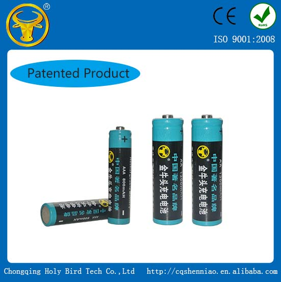 Hot sale aa 800mah 1.2v ni cd rechargeable battery