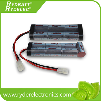 Ryder Ni-MH Battery Pack 4500mAh Custom Made Output Connector