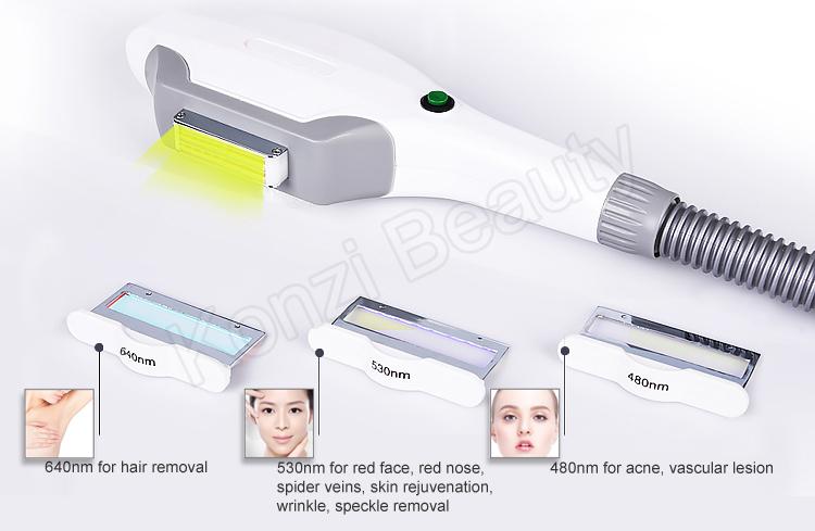 Xách tay elos ipl tóc loại bỏ máy/tẩy lông bằng laser ipl vẻ đẹp máy giá