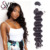 Wet And Wavy Cuticle Aligned Raw Virgin Brazilian Hair Bundle Extension Packaging