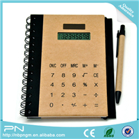 8 Digit Solar Power Working Portable Touch Screen Folding Notebook Calculator