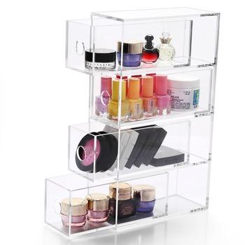 Acrylic Makeup Storage Box Organizer Eyeglasses Box Jewelry Box Accessories  Display Case Acrylic Glasses Display